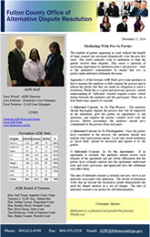 June 2014 ADR Newsletter
