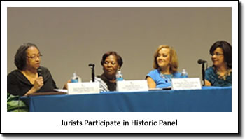 Jurists Participate in Historic Panel