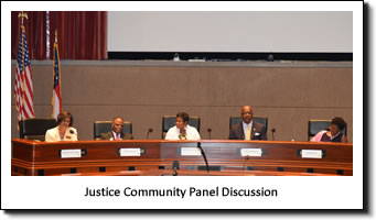 Justice Community Panel Discussion
