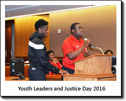 Youth Leaders and Justice Day 2016